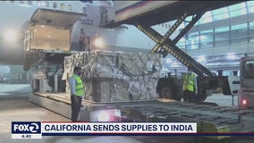 California sends supplies to India amid COVID-19 surge