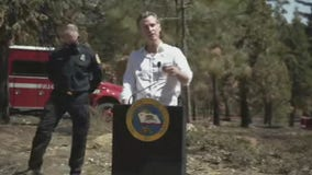 Newsom announces early budget action for wildfire prevention