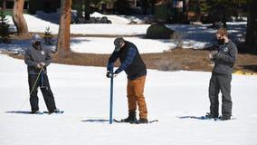 California snowpack below normal again as rainy season wraps up