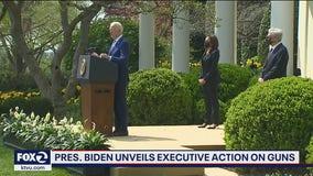 Biden announces executive orders to combat gun violence; calls it epidemic