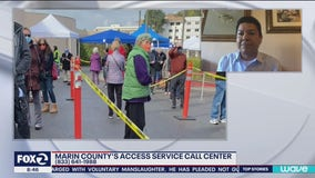 Marin County hotline helps certain groups secure vaccine appointments