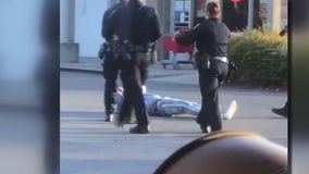 VIDEO: Hayward police officers kick, punch intoxicated man allegedly armed with pistol