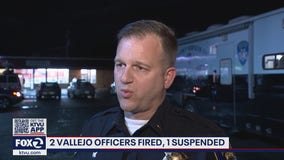 Two Vallejo police lieutenants fired, including union leader