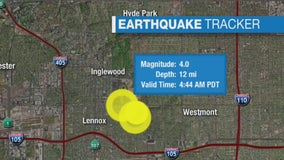 Series of quakes strike South LA, rattle Southern California