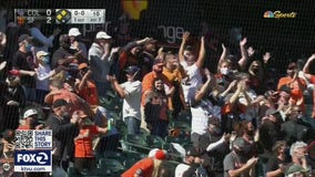 In face of pandemic, Giants host eventful home opener