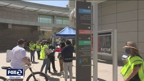Vaccination clinic at San Jose City Hall targets homeless population