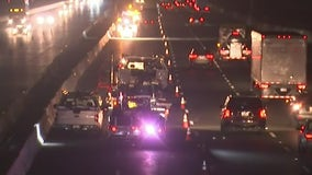 Driver hits truck on I-80 in Berkeley; Caltrans worker struck by driver in Richmond