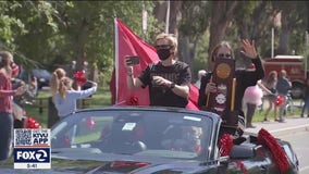 Stanford's Incredible Journey: Basketball champions return to campus