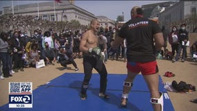 San Francisco martial arts demonstration aims to take a stand against Asian hate