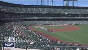 Baseball is Back: 8,900 fans attend Giants' home opener, nearby businesses rejoice