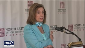 Pelosi joins SF health officials to tout Biden's American Rescue Plan