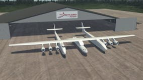 Massive Stratolaunch aircraft takes off on 2nd test flight