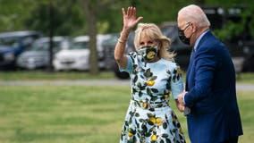 Jill Biden teams up with NFL great to push vaccinations