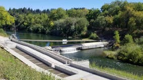 Inflation of Russian River rubber dam begins due to dry conditions