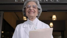 95-year-old woman retires after nearly century of work at Alta Bates