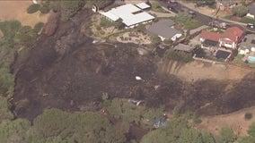 Crews extinguish Pittsburg vegetation fire that burned close to homes