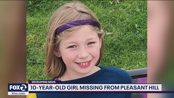 Missing: Police searching for 10-year-old girl out of Pleasant Hill