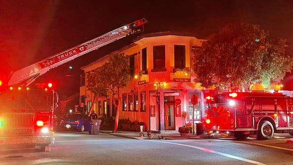 2 rescued from blaze at Half Moon Bay's historic San Benito House