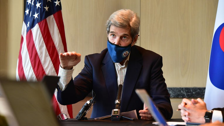 US Envoy For Climate Kerry Visits South Korea
