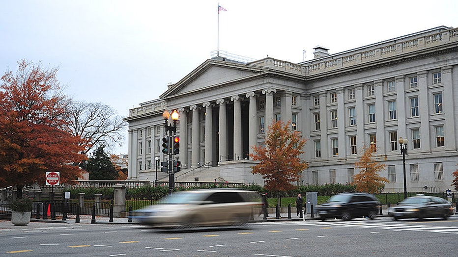 US Treasury building