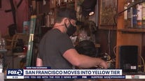 San Francisco is 1st in Bay Area to move to least-restrictive yellow tier