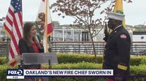Oakland swears in a new fire chief