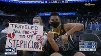 Warriors' Chase Center hosts its biggest pandemic crowd to date
