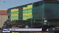Shooting on party bus leaves two women dead