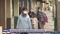 Updates guidance expected from California health officials on wearing masks