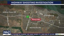 Highway 4 shooting investigation