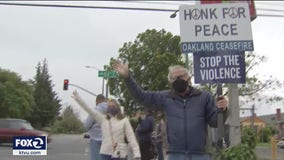'Police can't do it alone': Walk for peace in Oakland amid surge in gun violence