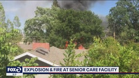 New video shows moments after explosion at Walnut Creek senior care facility