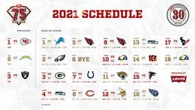 San Francisco 49ers release 2021 schedule