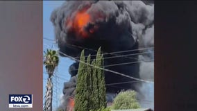 Kids dig hole and build out-of-control fire that caused 'mushroom cloud' in Martinez