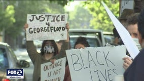 Rallies in Oakland honor George Floyd on one-year anniversary of his death