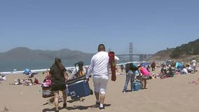 San Francisco beaches and wharf become Memorial Day hot spots