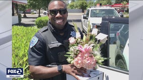 Fairfield police finish flower deliveries on Mother's Day after driver arrested for DUI