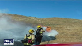 Busy weekend of fires is evidence of early season, says firefighters