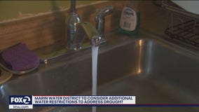 Marin Water District to consider additional usage restrictions to address drought