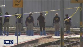 FBI investigation at VTA rail yard to continue through holiday weekend
