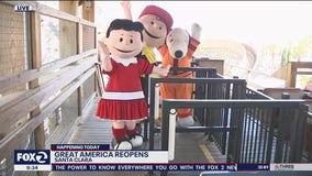 California's Great America in Santa Clara reopens to public