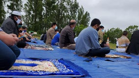 Muslims celebrate Eid al-Fitr during the pandemic