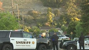 Armed man in Pinole surrenders to police; dog fatally shot
