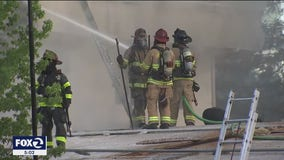 Fire breaks out at Christ Community Church of the Nazarene in Concord