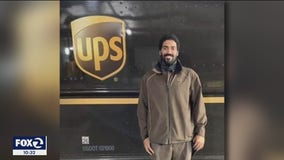 UPS driver spots 86-year-old woman bleeding in street, carries her to hospital