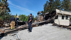 Investigators begin sifting through debris to find cause of fire at Concord church