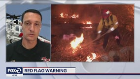 Cal Fire concerned about a possible early start to wildfire season as red flag warning hits parts of the Bay Area