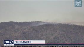 Grade Fire breaks out in Santa Cruz mountains