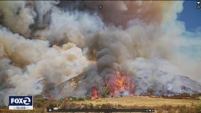 Dry and windy conditions signal peak wildfire season is ahead of schedule