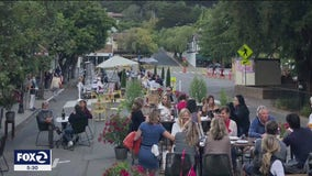 Mill Valley compromises on keeping road closed for outdoor dining